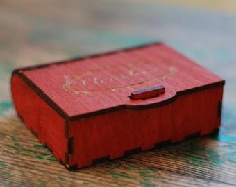 Custom jewelry box Etsy
