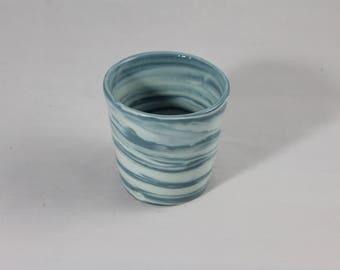 Porcelain Marbled Ceramic Cup