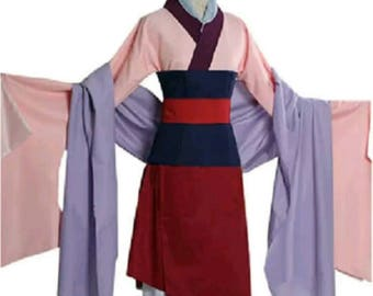 Mulan cosplay dress