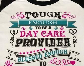Though enough to be a Day Care Provider, Blessed enough to love it!