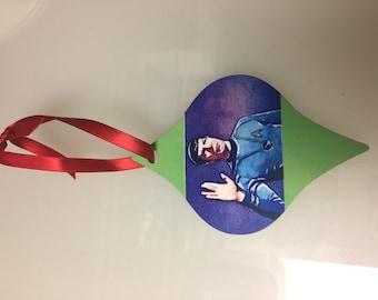 Custom Printed Tapered Ornament