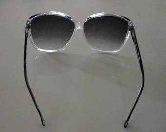 Vintage Retro Oversize Rims ROBERTs Made in Italy Sunglasses