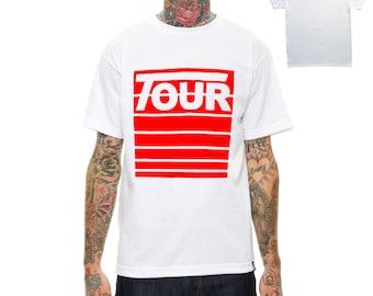 Custom Justin Bieber Purpose Stadium Tour Merch T Shirt, White Summer T Shirt, Yeezy Inspired Tee, Yeezus TLOP T Shirt