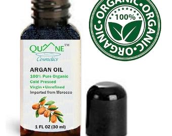 Quane Cosmetics Organic Moroccan Argan Oil / Anti-Wrinkle Moisturizer 1 oz