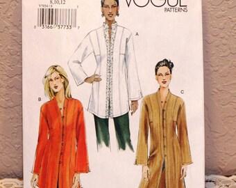 Vogue Sewing Pattern V7854 Misses - Size 8, 10, 12