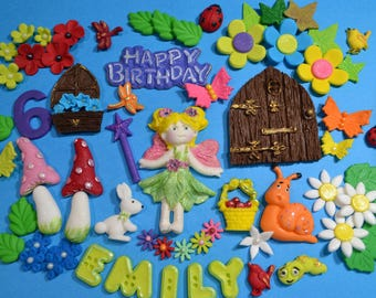 Fairy  Cake Topper Decoration