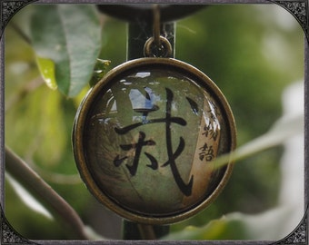 Ethno Cabochon necklace Bonsai