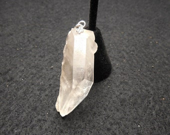Phantom Quartz Crystal Pendant, North Carolina Quartz