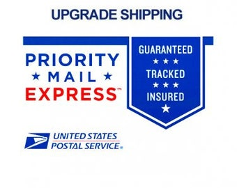 Priority Mail Express Shipping Upgrade