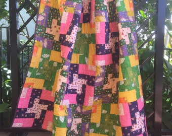 Wind Chime Quilt Kit featuring Sleeping Porch by Heather Ross