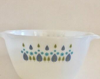 Vintage FireKing Apline Swiss Chalet mixing bowl