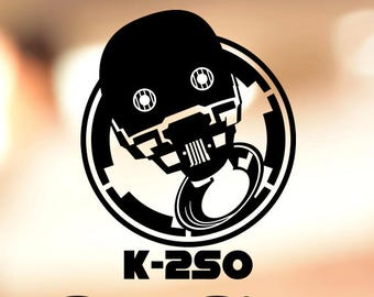 Star Wars Rogue One K-2SO - Vinyl Decal