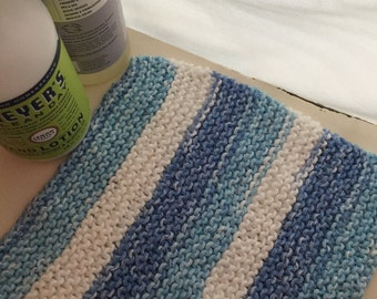 Handmade Knitted Dishcloth