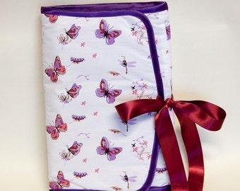 "Knitting Needle Case ""Envelope"" - DPN Needle case - kniting needle and crochet hook organiser"