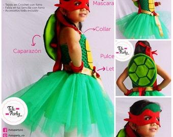 Teenage Mutant Ninja Turtles costume girl