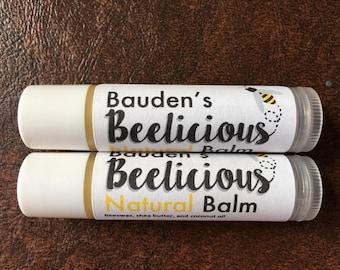 Bauden's Beelicious Natural Lip Balm