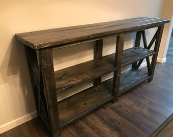 Farmhouse Buffet or Sofa Table