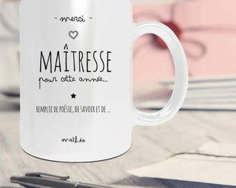 Centerpiece personalized with name personalised mug