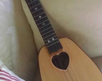 Concert size pineapple ukulele