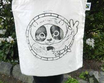 loris tote bag (FAIRTRADE and organic cotton)