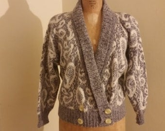Renfrew 70's Paisley Sweater Made in Italy