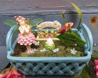Enchanted Spring Fairy Garden