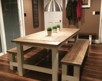 Farmhouse Table  *(LOCAL PICKUP ONLY)*