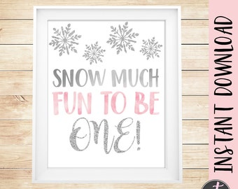 Winter Onederland Birthday Sign, Winter First Birthday Sign, Winter Onederland Party, Winter Onederland Sign, Pink Winter Onderland