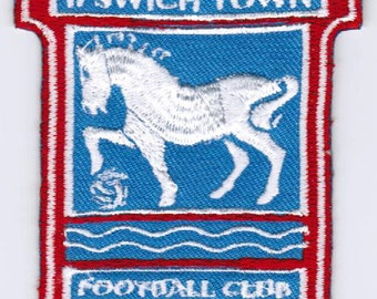 Ipswich Town FC Football Club England EMBROIDERED PATCH