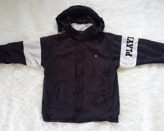Vtg Playboy Windbreaker Jacket