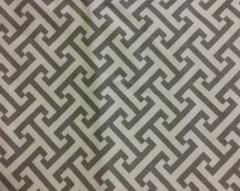 Home decor fabric, gray and white fabric, fabric, remnant, fabric remnant, gray fabric, gray and white, gray, home decor, gray decor