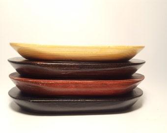 Cedar Wood Soap Dish/ Soap Dish/ Oval Soap Dish/ Walnut Soap Dish/ Wood Soap Dish/ Soap Tray