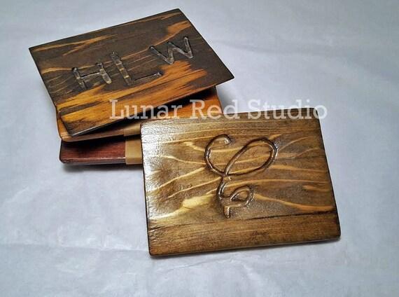 Soap Dish/ Monogrammed Soap Dish/ Personalized Gifts/ Wooden Soap Dish/ Soap Deck/ Cedar Soap Dish/ Engraved Soap Dish/ Square Soap Dish