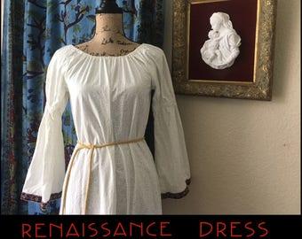 Handmade Vintage Renaissance Dress