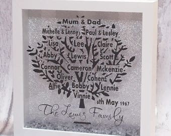 Family Tree, Family Gift, Fathers Day Gift, Family Tree Gift, Gift For Mum, Gift For Grandprents, Dad Gift, Personalised Gift, Family Gift