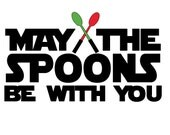 "NEW!! May the spoons be with you 4"" vinyl sticker decal - nerdy sticker - spoonie - star wars -  chronic illness - glow in the dark sticker"