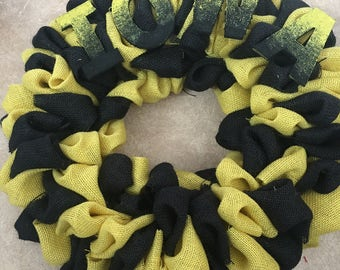 Iowa Wreath
