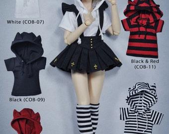 CODENOiR - Hoodie BJD clothes msd / Slimi msd / mdd / angel philia / 1/4 BJD