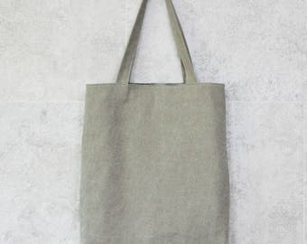 Beige Eco bag, canvas bag, Beige canvas bag, Everyday bag,canvas tote bagg