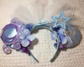 minnie headband cinderella theme