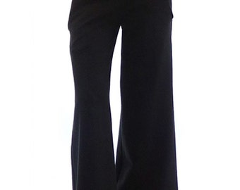 Black wide leg pants, Wide leg pants, Boho pants, Black boho pants, Long women pants, Long women trousers, Maxi trousers, Oversized pants