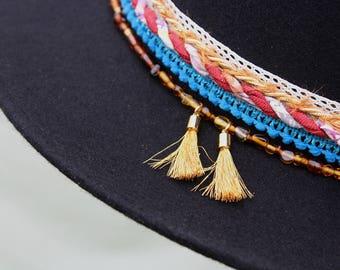 Embellished Wool Felt Hat
