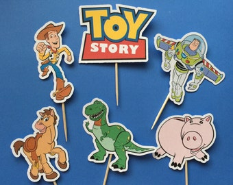 Toy Story Inspired Cupcake Toppers  (12)