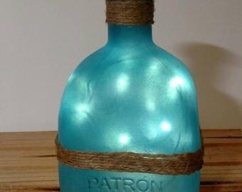 Lighted reclaimed bottle vintage