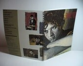 Simply Red Picture Book Record sleeve notebook