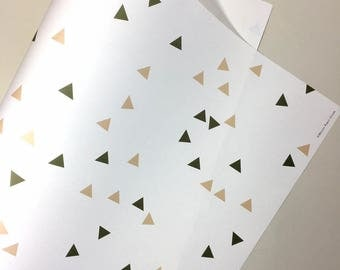 Confetti Gift Wrap. Wrapping Paper