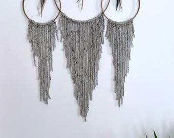 3 ring yarn hanging