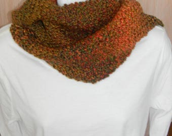 Knitted Scarf- Harvest