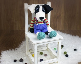 Ollie The Dog, amigurumi dog