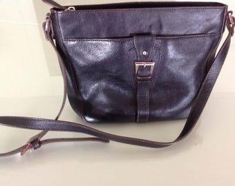 Vintage Etienne Aigner Leather Black Purse.